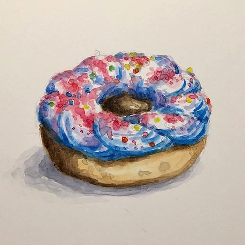 Donut 10: Birthday Cake