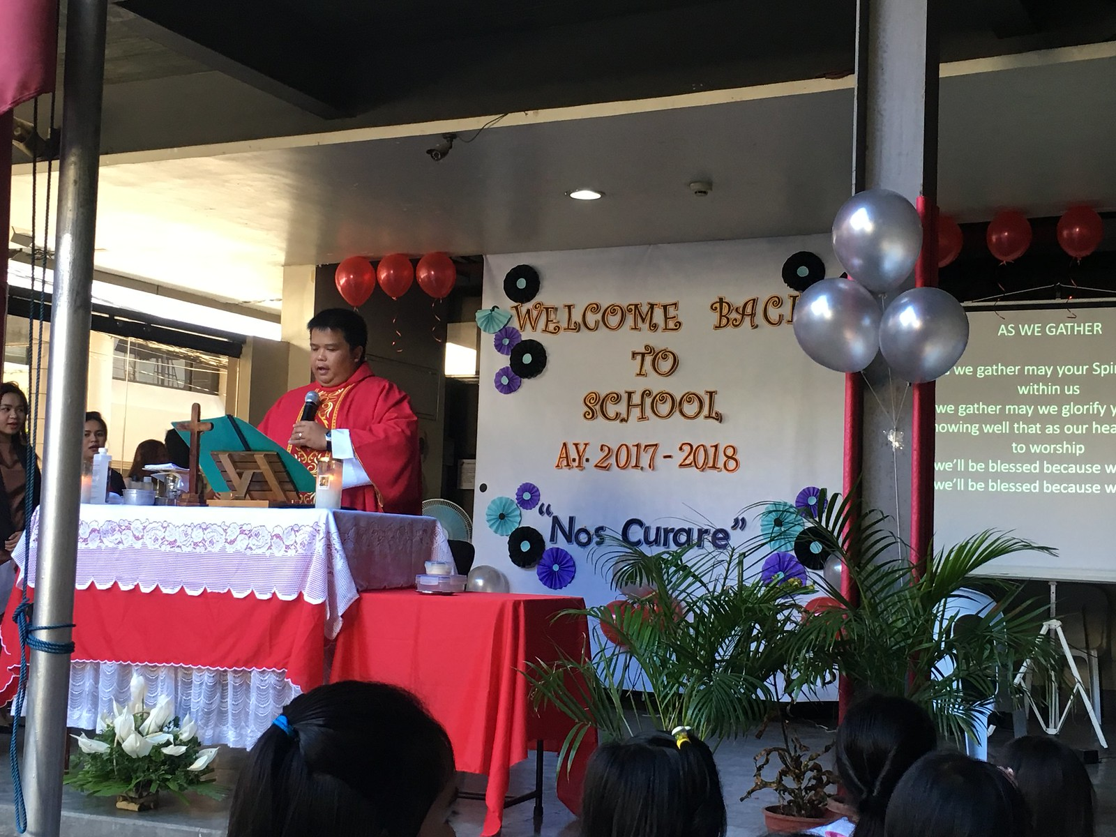 June activities - Gorordo Campus - Holy Spirit Mass and Welcoming Activity