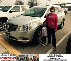 #HappyBirthday to Jim and Julia from Ricky Barnes at McKinney Buick GMC!