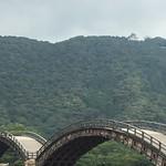 錦帯橋とお城。