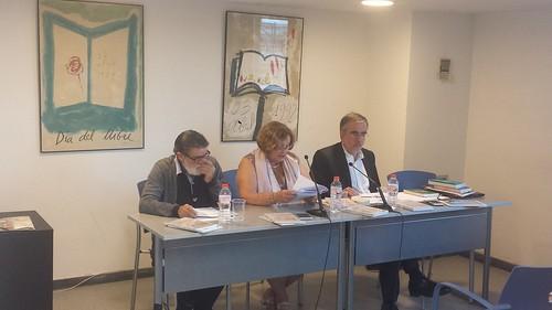 Presentación del libro de Ester Abreu sobre Santiago Montobbio en ACEC Barcelona