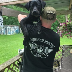 Customer Photo: USMC. No better friend. No worse enemy. T-Shirt