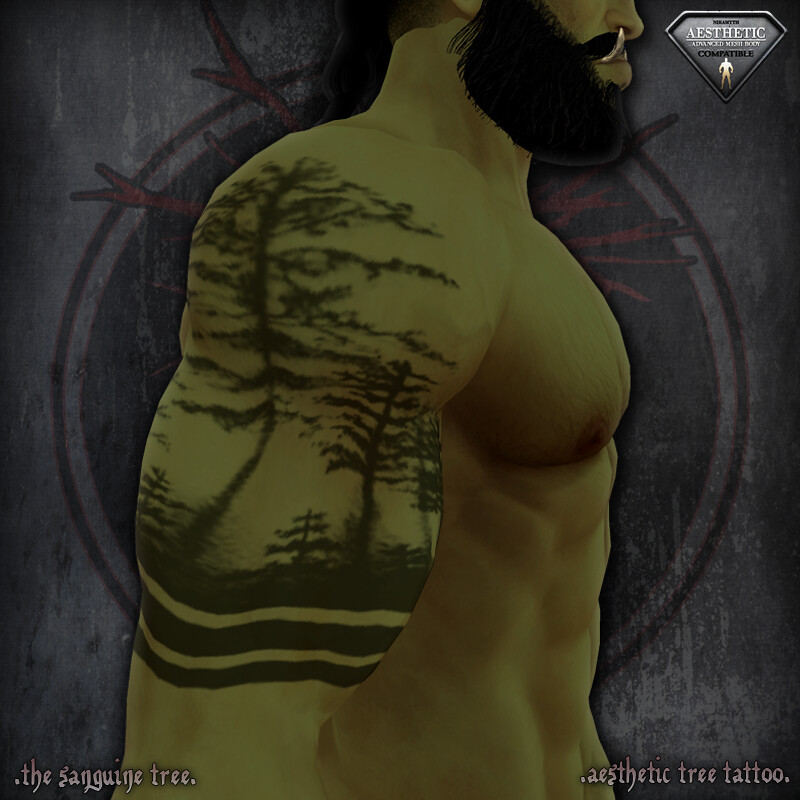 [ new release – aesthetic tree tattoo ] - SecondLifeHub.com