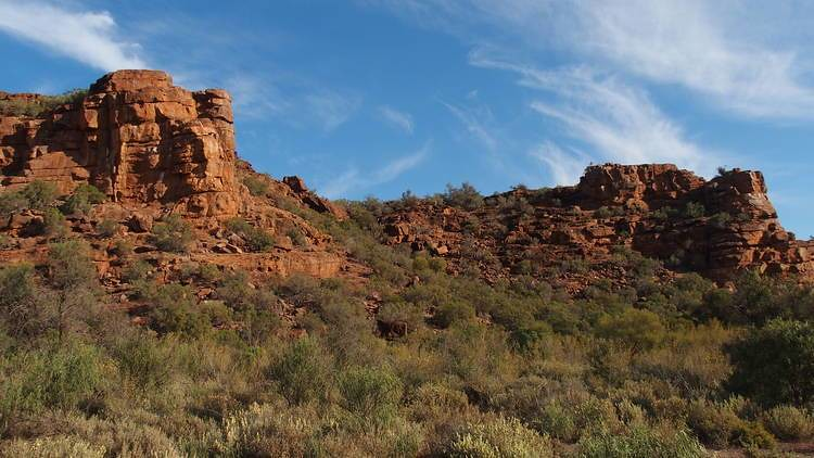 Wild Dog Hill Rock formations, Whyalla Conservation Park, South Australia