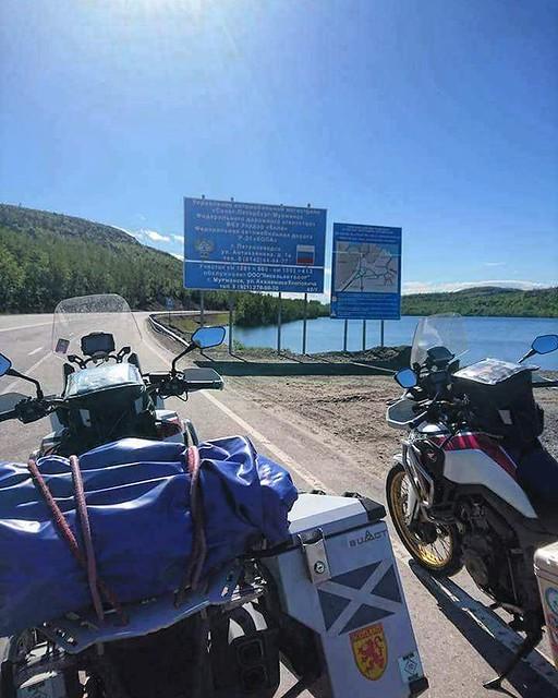 Russain border