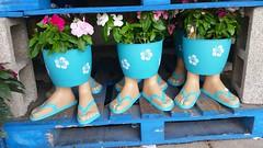 Flowerpot Feet