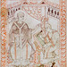 Pope St Gregory the Great Dictating Chants from Antiphonary of Hartker of Monastery of St Gall, circa 1000