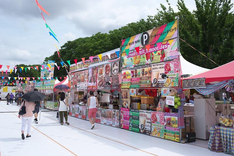 タイフード&ビアフェスティバル 上野公園 2017年7月29日