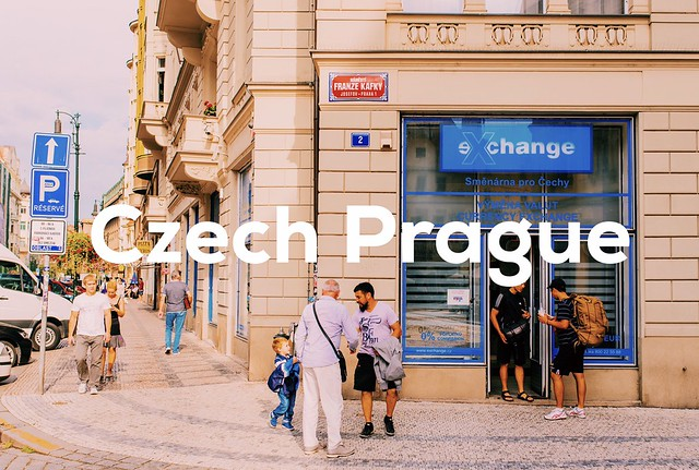 捷克/布拉格旅遊–最佳捷克克朗換匯處與換匯注意事項