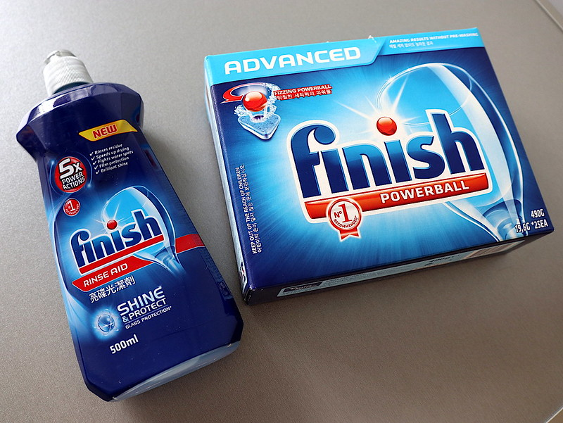 Dishwasher Rinse and Detergent