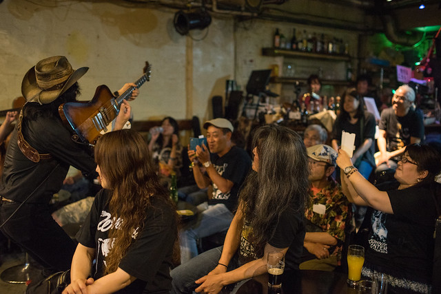 Johnny Winter Tribute Festival 7 - 鈴木Johnny隆バンド live at Golden Egg, Tokyo, 16 Jul 2017 -7M2-00300
