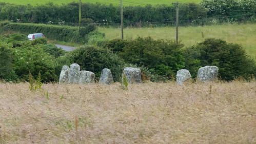 Merry Maidens prehistoric stone circle