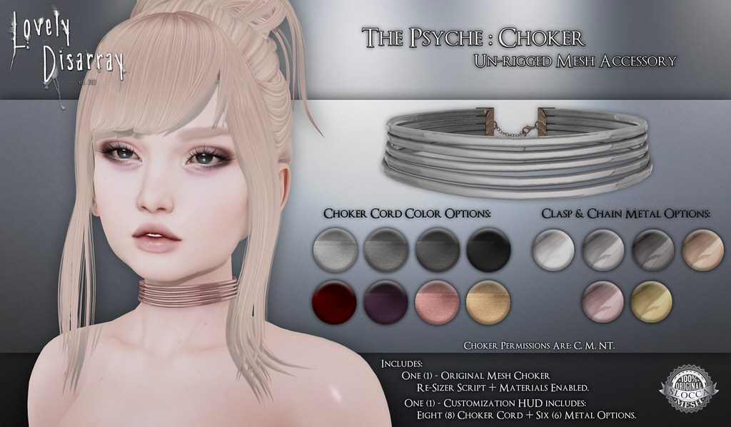 The Psyche Choker @ The Kawaii Project - SecondLifeHub.com