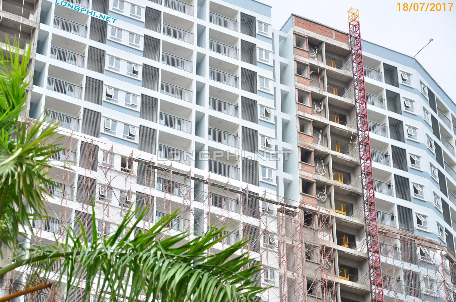 Mặt trong tháp Nam - Jamona Apartment - Luxury Home Q7.