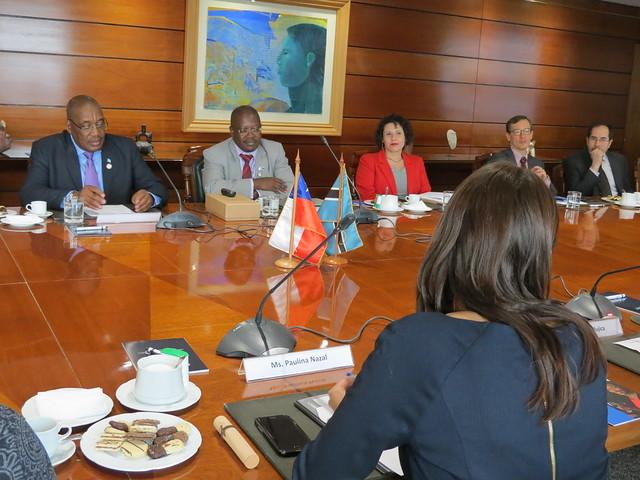 Reunión Chile y Botswana 2017