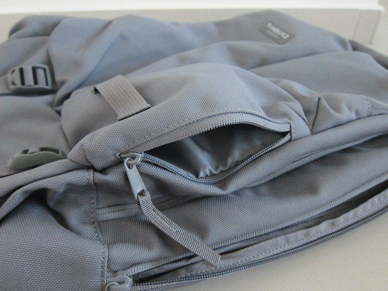 Timbuk2 Showdown Laptop Backpack - Bottom Right Front Pocket