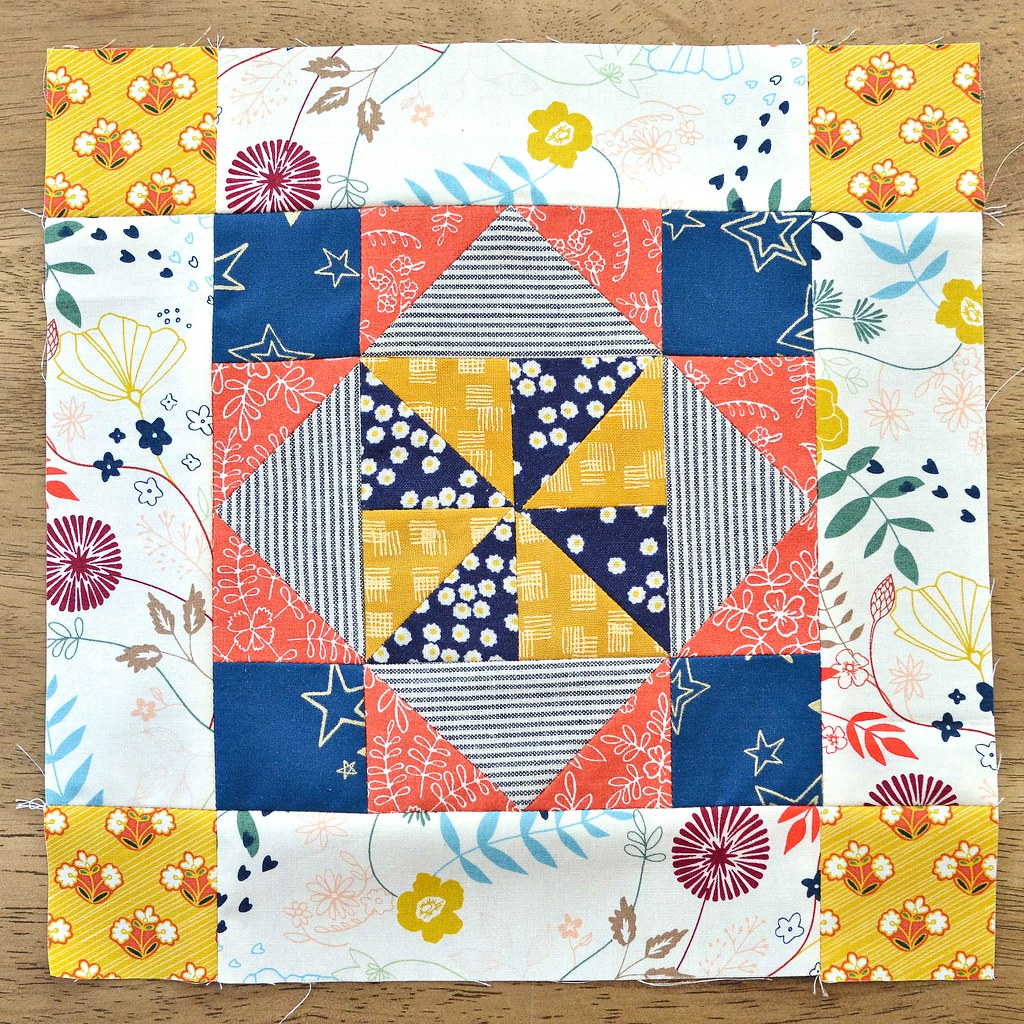 The Fussy Cut Sampler Block # 47