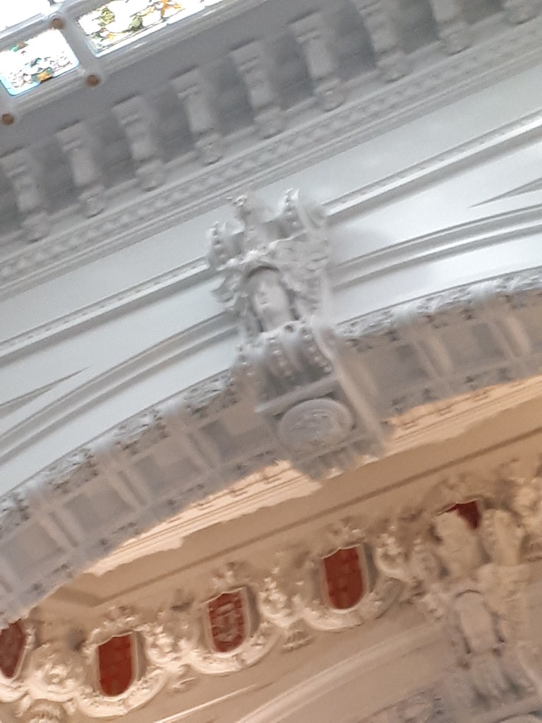 Detalle Interior Palacio De Cibeles Madrid Art Art