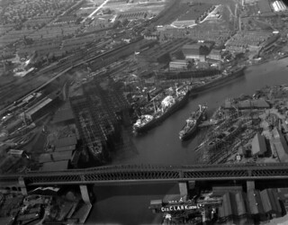 Shipyards on the River Wear, 1949