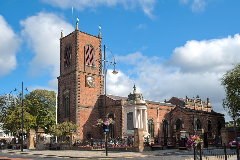 County Durham, STOCKTON ON TEES, Stockton Parish Church