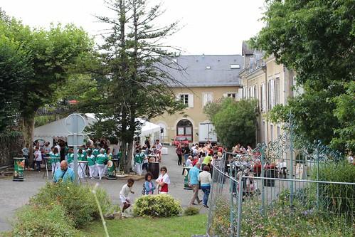 Village des enfants et ambiance taurine