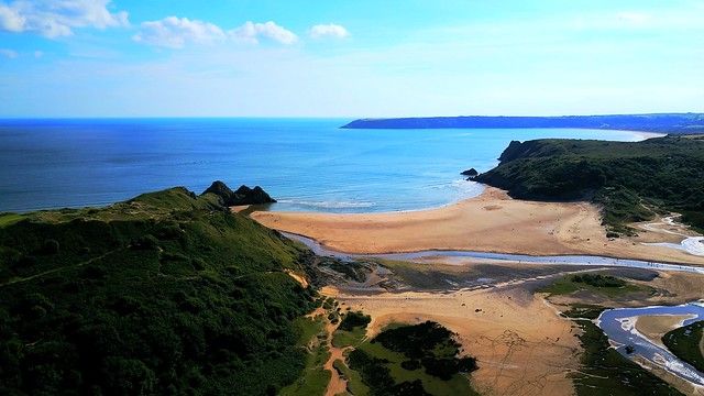 Three Cliffs Gower Wales