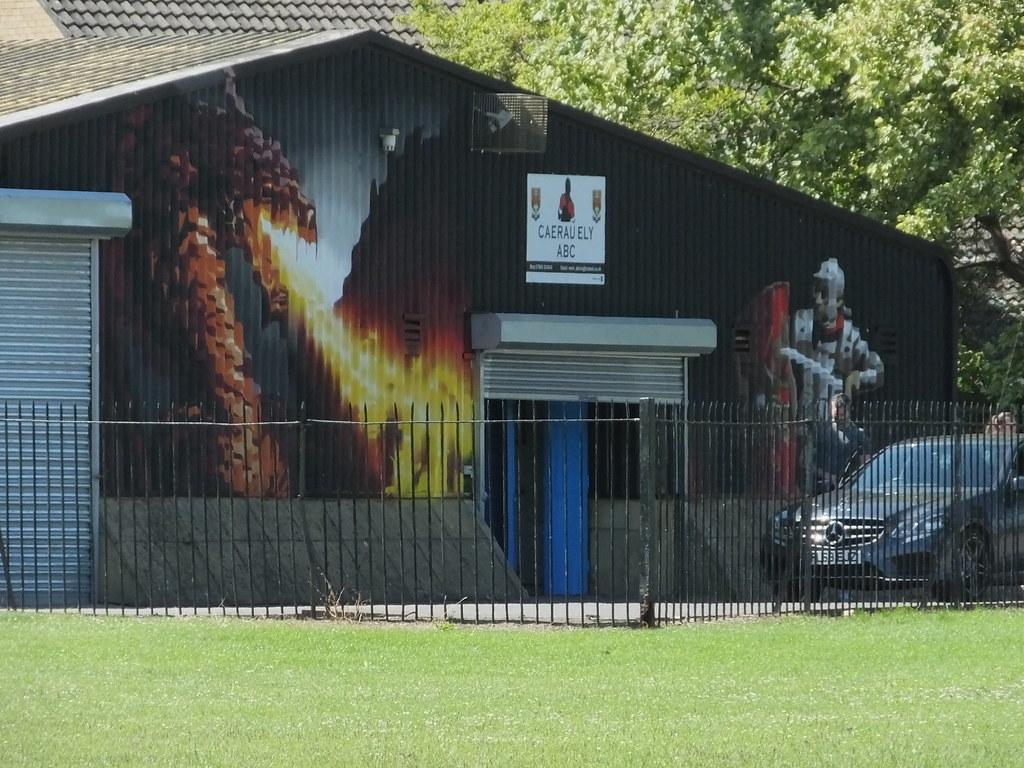 Ely Racecourse street art by Peaceful Progress