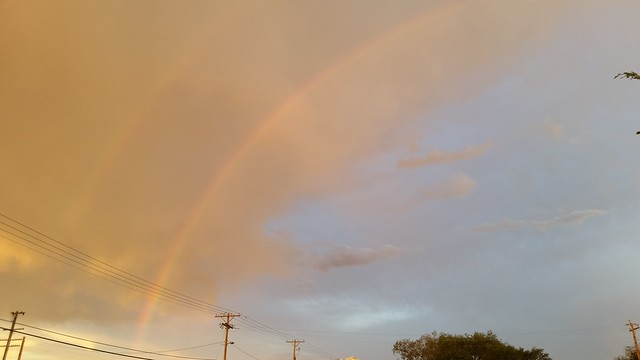 Rainbow over Fernley