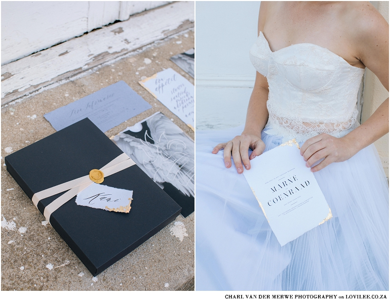 Contemporary Romeo & Juliet styled shoot