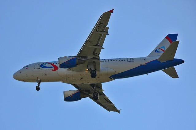 VP-BTE Ural Airlines