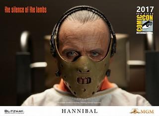 令人聞風喪膽的食人魔!!Blitzway 沈默的羔羊【漢尼拔·萊克特】The Silence of the Lambs Hannibal Lecter 1/6 比例人偶作品