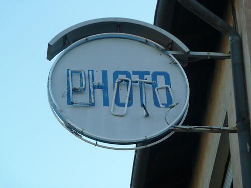 Alte Photo-Reklame