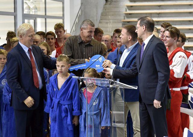 Vizes vb 2017 - Átadták a felújított Császár-Komjádi Sportuszodát