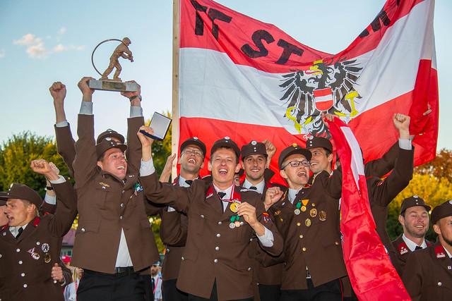 #VOF - Feierliche Schlusszeremonie (Fotos: Hermann Kollinger)