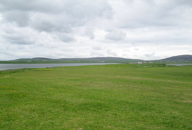 Looking Towards Ness of Brodgar and Maeshowe