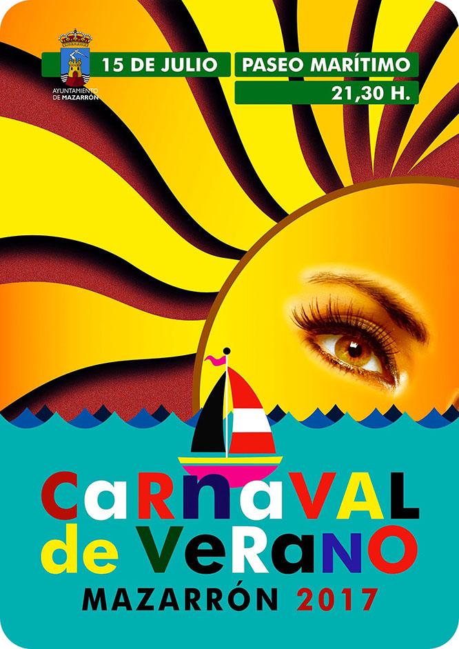 650 participantes se dan cita esta noche en el Carnaval de Verano de Mazarrón