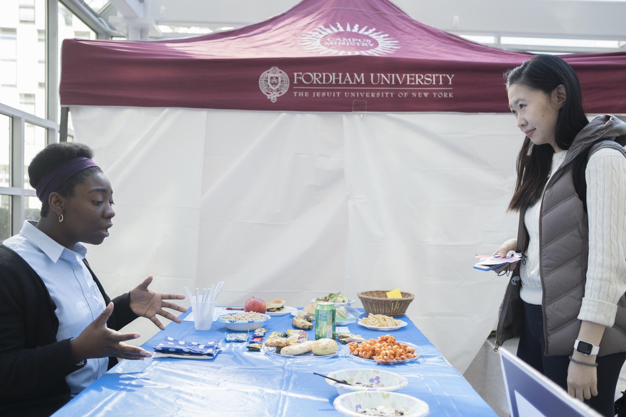 Refugee Simulation at Fordham University