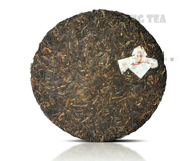 Free Shipping 2006 XiaGuan 8633 Beeng Cake 357g YunNan MengHai Organic Pu'er Raw Tea Weight Loss Slim Beauty Sheng Cha