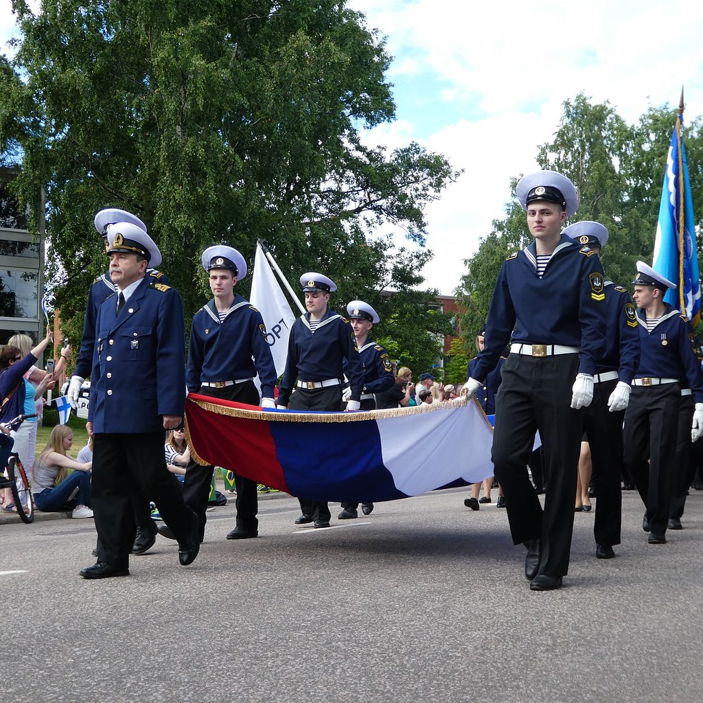 Crew Parade, Tall Ships Race, Kotka