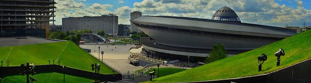 Katowice - Spodek huge panorama