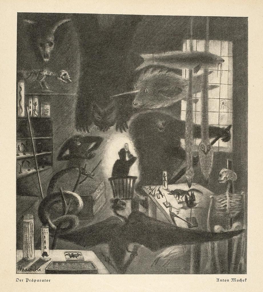 Anton Machek - The Preparer, 1929