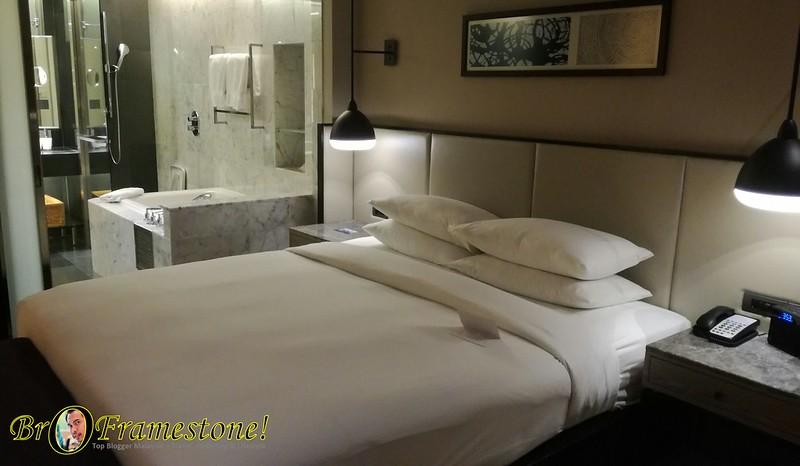 Menginap di Hilton Hotel, Kuala Lumpur