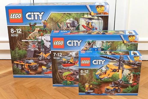 City Jungle new Sets