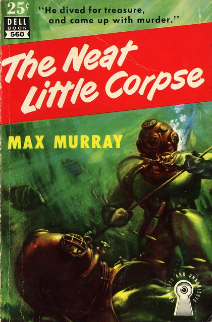 Dell Books 560 - Max Murray - The Neat Little Corpse