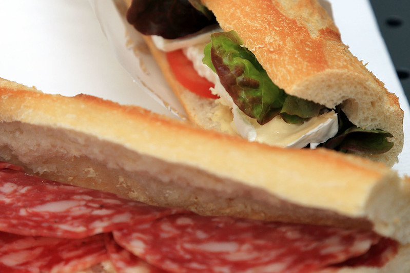 Baguette lunch
