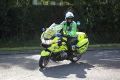 BMW motorbike of Essex Police