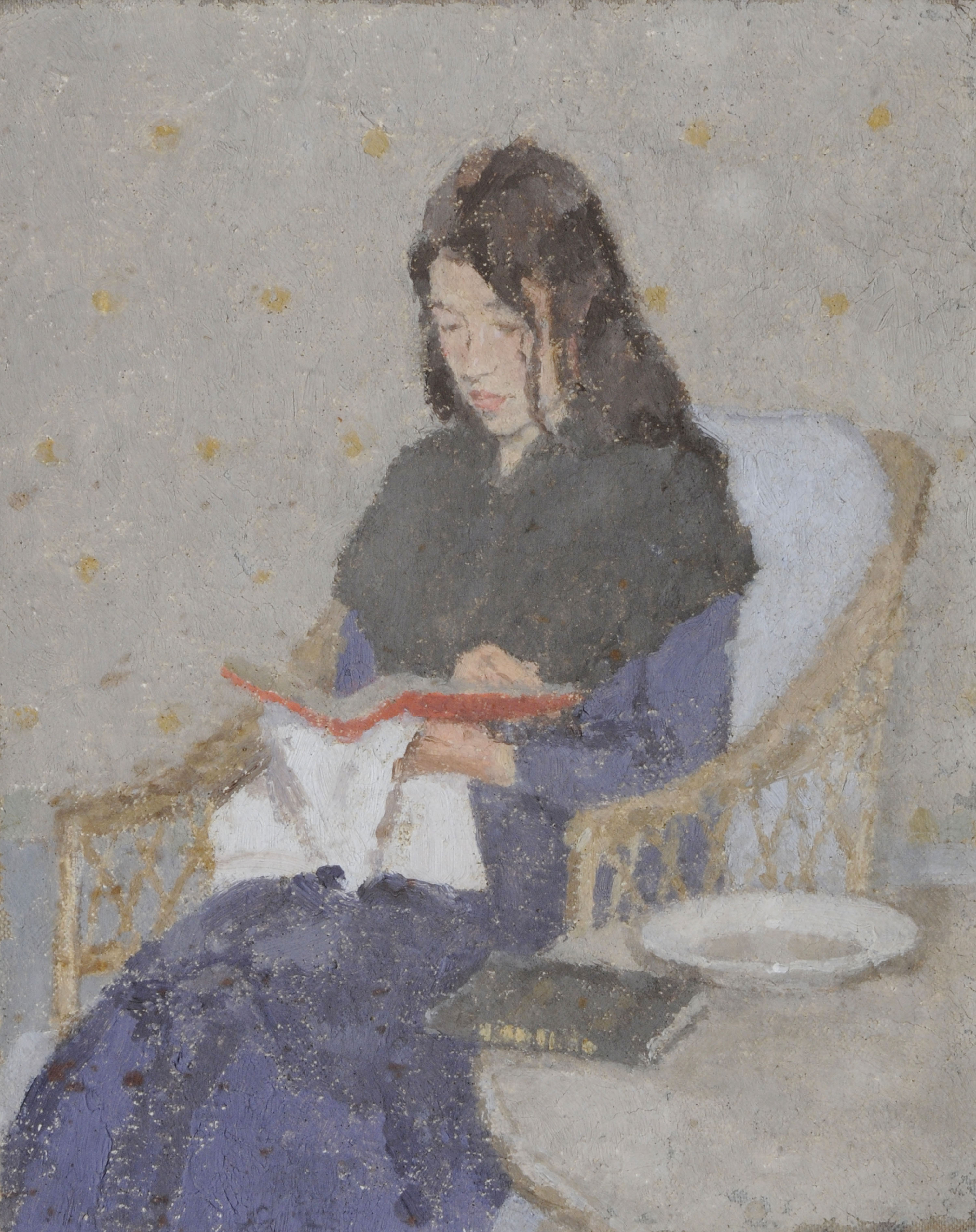 The Seated Woman, c.1910-1920 – Gwen John. Image: © Ferens Art Gallery