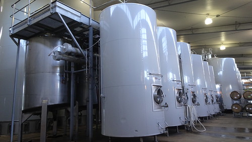 Villa Maria Winery, fermenting vats