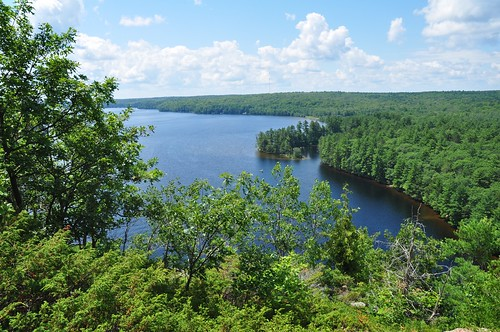 View from the top of Cliff Top Trail, Bon Echo Provincial Park