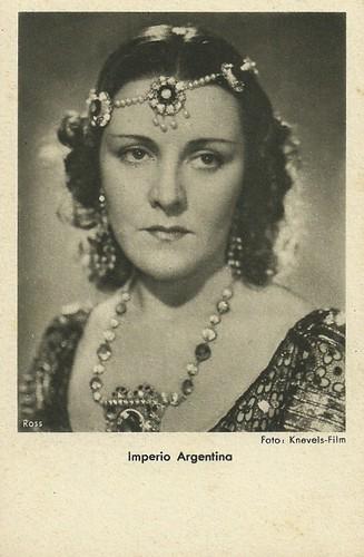 Imperio Argentina in La canción de Aixa (1939).